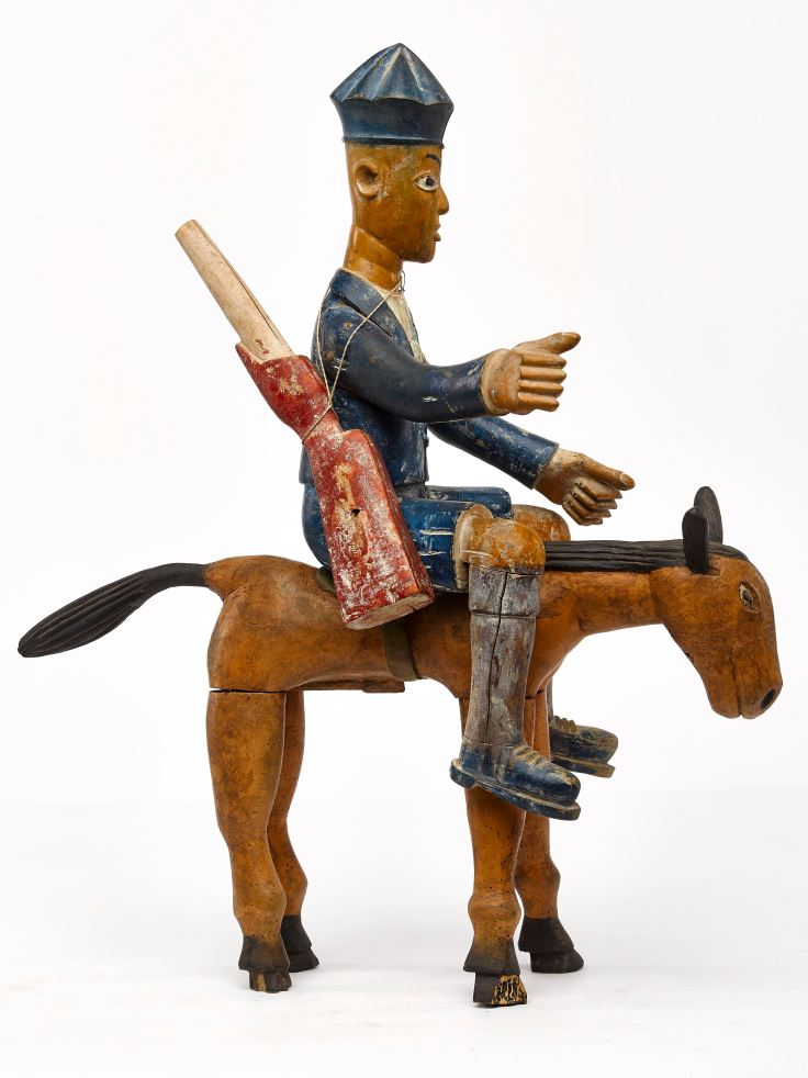 A190 Colon Figure Ashante Ghana 64cm