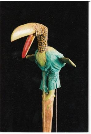Bozo Puppet , Mali