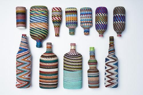 wirework bottles, zulu 1950-60