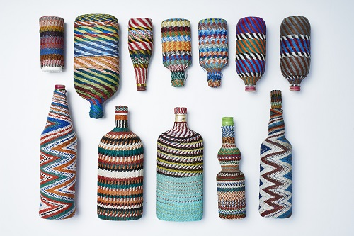 wirework bottles, zulu 1950-60