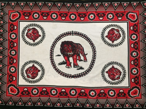 RED, BLACK AND WHITE COTTON CLOTHS IN SOUTH AFRICA – tribalnow